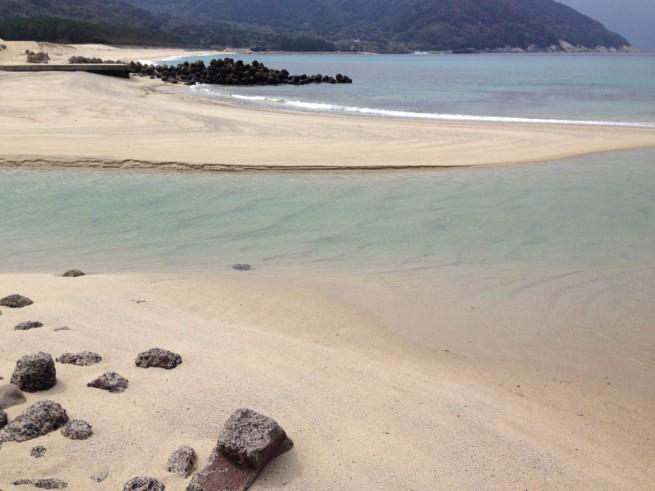 屋久島 砂浜